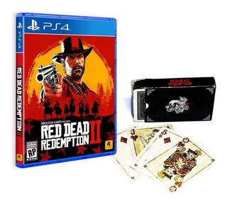 Red Dead Redemption 2 Ps4 + Cartas Oficiales + Envio Gratis
