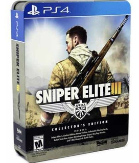 Juego Ps4 Sniper Elite 3 Africa Collector Edition