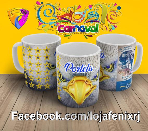 Caneca Portela Carnaval 2019 Rio De Janeiro