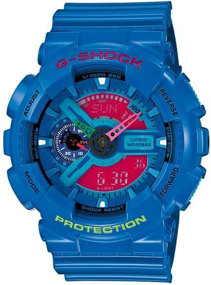 Relógio Casio G-shock Masculino Digi/ana Ga-110hc-2adr