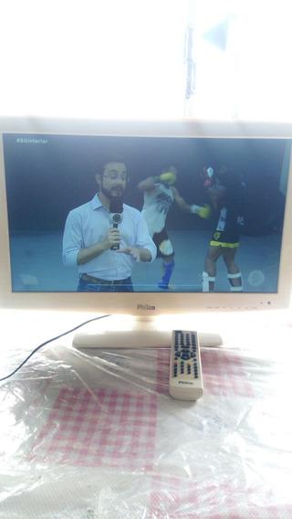 Tv Philco 24 Polegadas , Modelo Gabinete Branco !