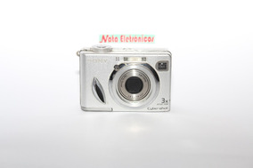 Câmera Digital Sony Dsc-w7, Com Defeito.