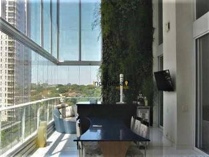 Apartamento Com 4 Dormitórios À Venda, 293 M² Por R$ 4.050.000,00 - Campo Belo - São Paulo/sp - Ap14214