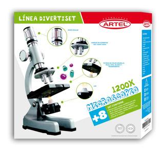 Microscopio 1200x Más Accesorios Artel