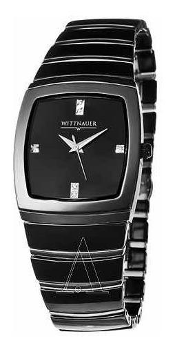 Wittnauer Ceramic Watch Mans Quartz Swiss 12d03 Relojhombre