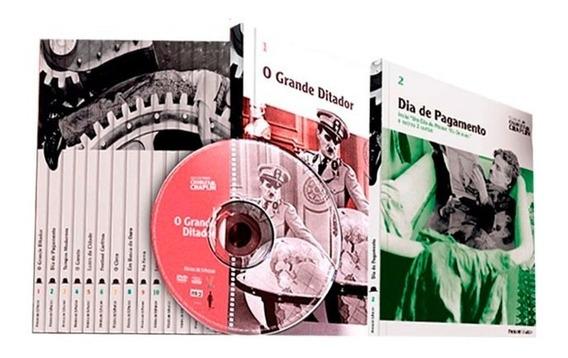 Coleção Folha Charles Chaplin Dvd Com Livreto Original