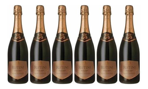 Champagne Rutini Extra Brut X 750cc Caja X 6 Botellas
