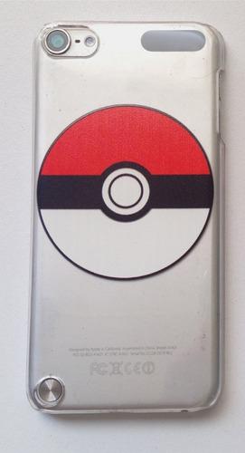 Imagen 1 de 6 de Funda Crystal Case iPod Touch 5 Y 6 Pokebola, Pokemón Go