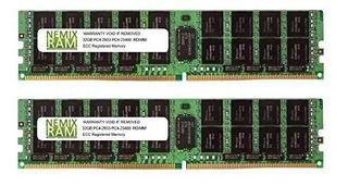 Nemix - Memoria Ram (64 Gb, 2 Gb, Ddr4-2933, Pc4-23400, 2rx4