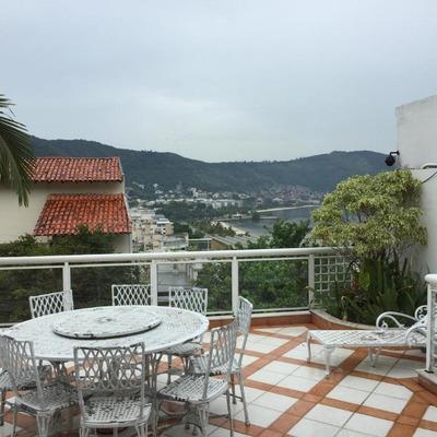 Casa Com 5 Dormitórios À Venda, 290 M² Por R$ 1.470.000 - São Francisco - Niterói/rj - Ca0901