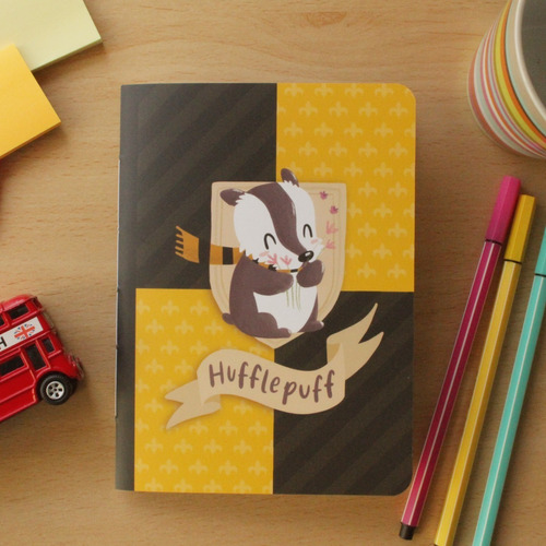 Caderninho Hp - Hufflepuff
