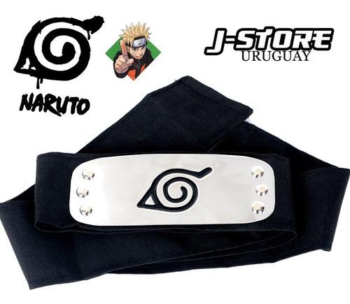 Bandana De Konoha Aldea La Hoja Cinta Negra Naruto