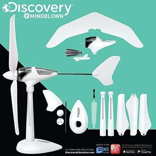 Discovery Kids Mindblown Viento Turbina Kit Planeador