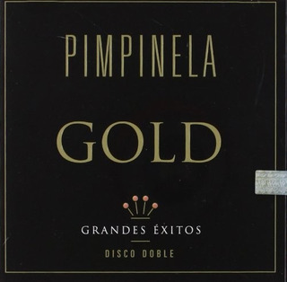 Cd Pimpinela Gold Grandes Éxitos Disco Doble Open Music U-