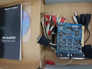 Placa De Audio M-audio 1010lt