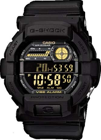Relógio Casio G-shock Gd-350-1bdr *vibration