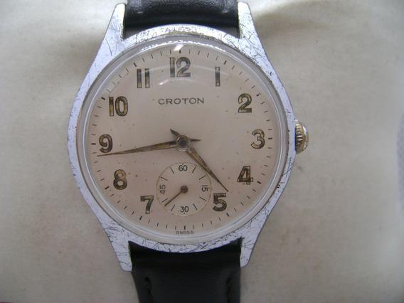 Reloj Croton Original De Cuerda De Colección.