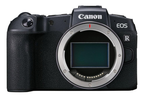 Imagem 1 de 9 de Canon EOS R Kit RP + lente RF 24-105mm f/4-7.1 IS STM mirrorless cor  preto