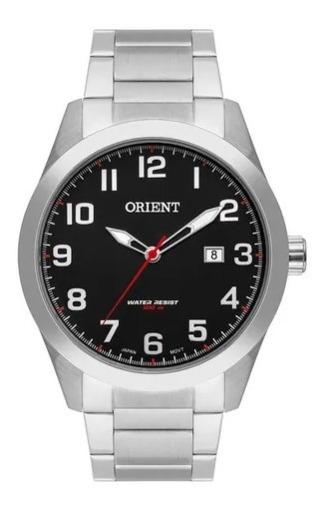 Relógio Orient Masculino Prata Mbss1360 P2sx Novo Original