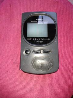 Mini Televisión Casio Portátil Color Tv-480 Analógica