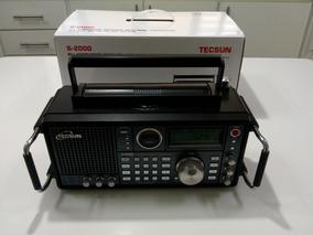 Receptor Ondas Curtas Tecsun S-2000 Novo Na Caixa