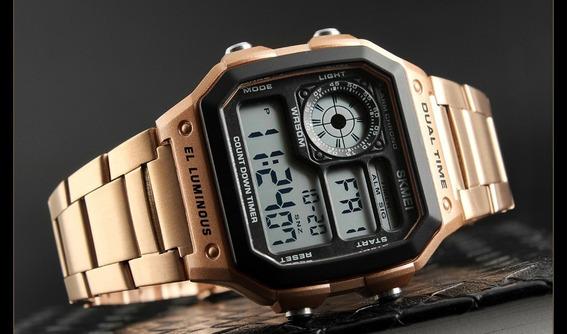 Relógio Skmei Rose 1335 Digital Resistente A Água Até 50m