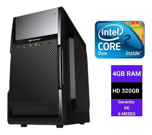 Micro Pc Desktop Core 2 Duo 2.7 Ghz 4gb Ram Hd 320 Giga