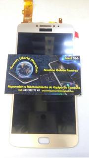 Touch Screen Moto E4 Plus Dorado