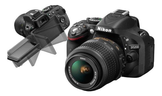 Câmera Profissional Nikon D5200 (a Melhor De Todas)
