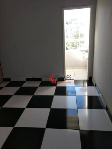 Imagem 1 de 5 de Sala Para Alugar, 50 M² Por R$ 1.500,00/mês - Jardim Do Mar - São Bernardo Do Campo/sp - Sa0348