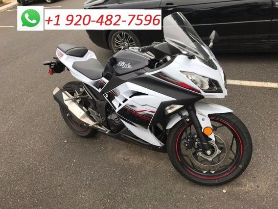2018 Blanco Kawasaki Ninja 300abs