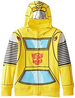Transformers Boys Bumblebee Character Sudadera Con Capucha