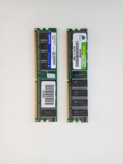 2 Memorias (1gb + 500mb) Ram Ddr400 Oferta