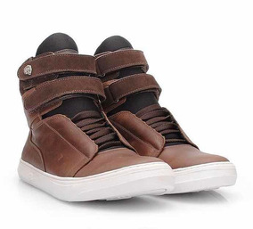 Tênis Sneaker Hardcore Footwear- Bota Couro Masculino Treino