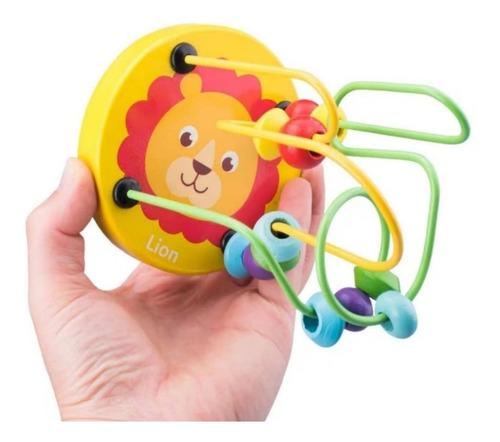 Juguete Didáctico De Mano Para Niños Bebé De Madera (12)