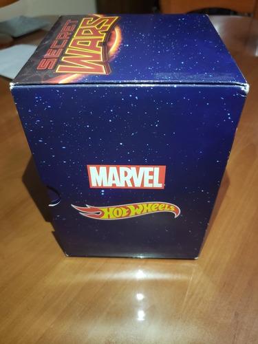 Hotwheels Marvel Secret Wars Sdcc