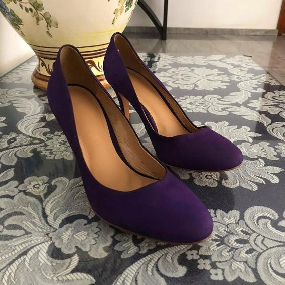 Salto Roxo My Shoes - Tam: 38