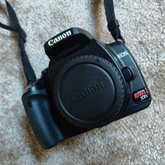 Câmera Canon Eos 400d Rebel Xti - Corpo + Acessórios