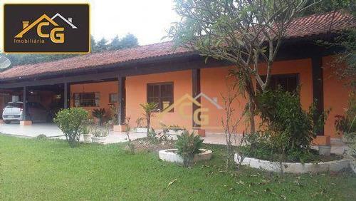 Imagem 1 de 27 de Chácara Com 4 Dormitórios À Venda, 12700 M² Por R$ 950.000,00 - Centro (canguera) - São Roque/sp - Ch0122