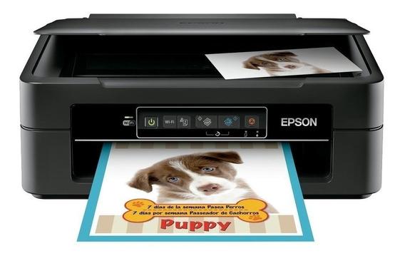 Impressora a cor multifuncional Epson Expression XP-241 com Wi-Fi 110V preta