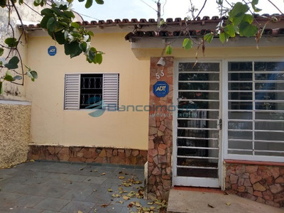 Casa Para Venda Cambu[i, Casa Para Venda Em Campinas - Ca02057