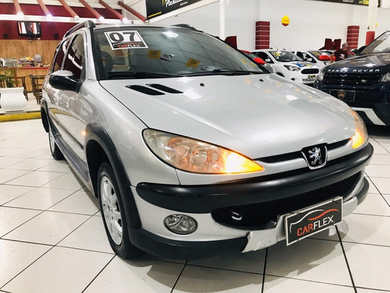 Peugeot 206 Sw Escapade 1.6 16v Flex 5p 2007 Completa
