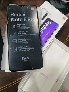 Xiaomi Redmi Note 8 Pro 128gb Dual Sim 6gb Ram Camara 64mpx
