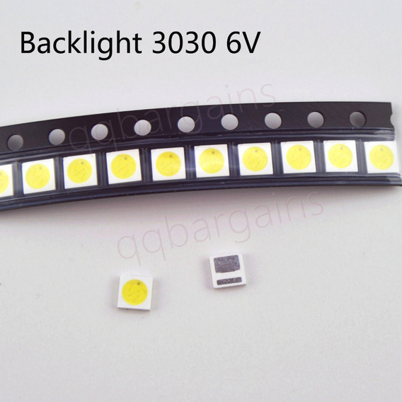 Kit 50 Leds Toshiba - Philco 6v 1.8w 3030