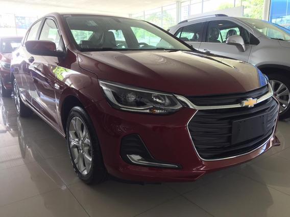 Chevrolet Onix - Motor 1.0 Turbo - 2020 - Vermelho - 4p
