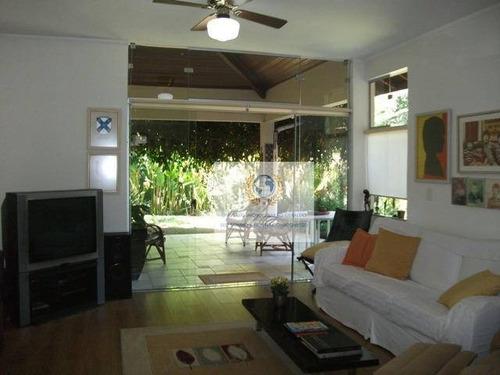 Casa Com 4 Dormitórios À Venda, 350 M² Por R$ 1.350.000,00 - Chácara Santa Margarida - Campinas/sp - Ca0065