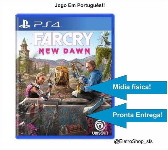 Jogo Mundo Aberto Farcry New Dawn Ps4 Mídia Física Original