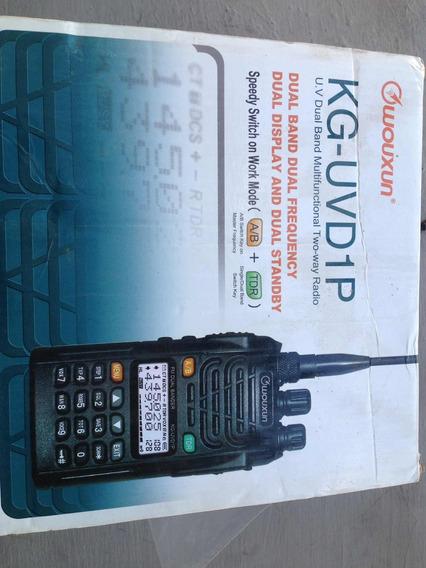 Radio Portátil Multibanda Wouxun Kg-uvd1p Nuevo