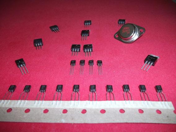 Kit Com 24 Unidades De Transistores
