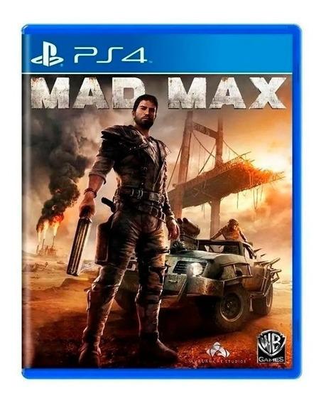 Mad Max Ps4 Mídia Física Semi Novo Pronta Entrega